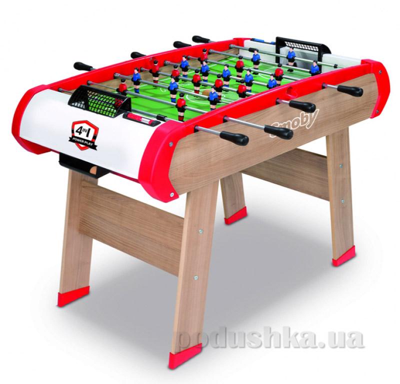 Деревянный полупрофессиональный стол Power Play для игр Smoby 640000