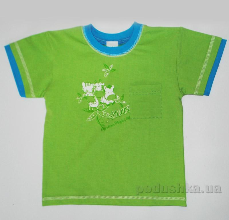 Детская футболка Senti 1112171 зеленая