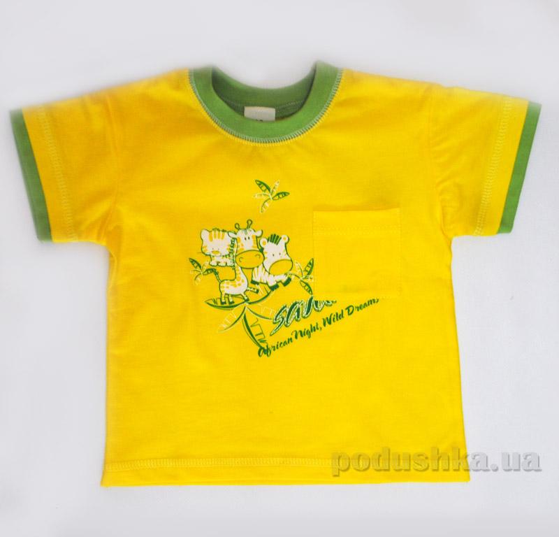Детская футболка Senti 1112171 желтая