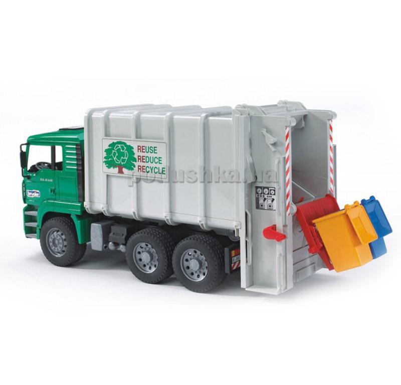 Детская игрушка мусоровоз MАN TGA Bruder 02764