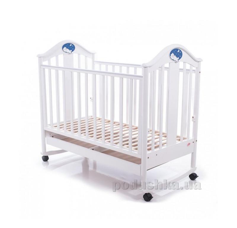 Детская кроватка Babycare BC-433M Экстра ламель белая