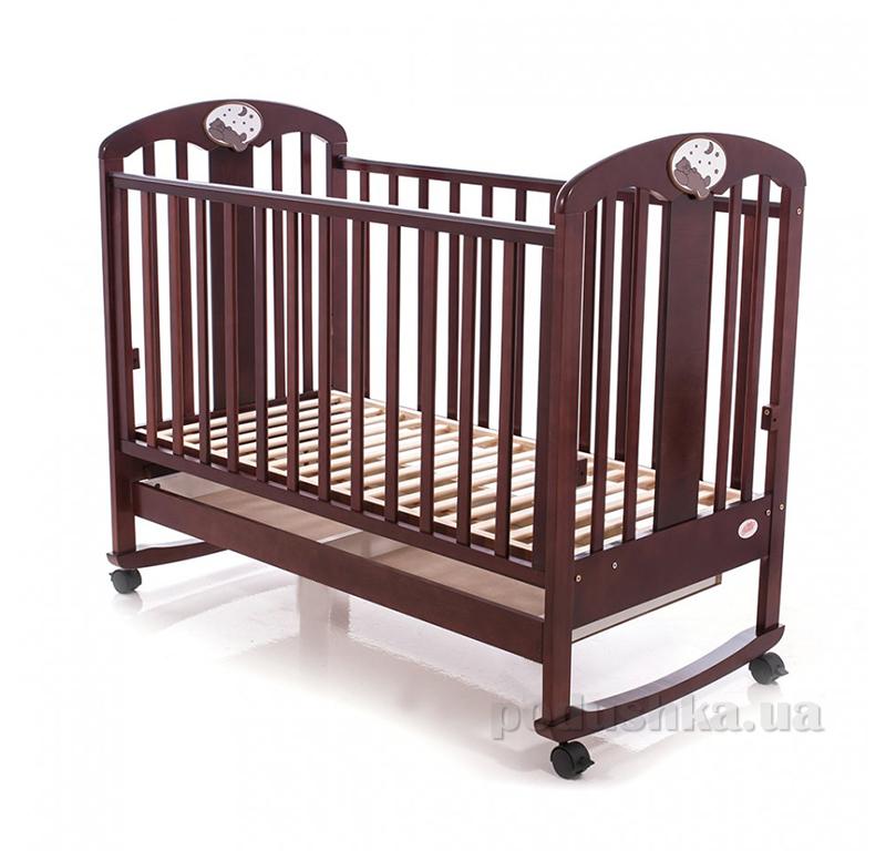 Детская кроватка Babycare BC-435M Классик Ламель Орех 23067