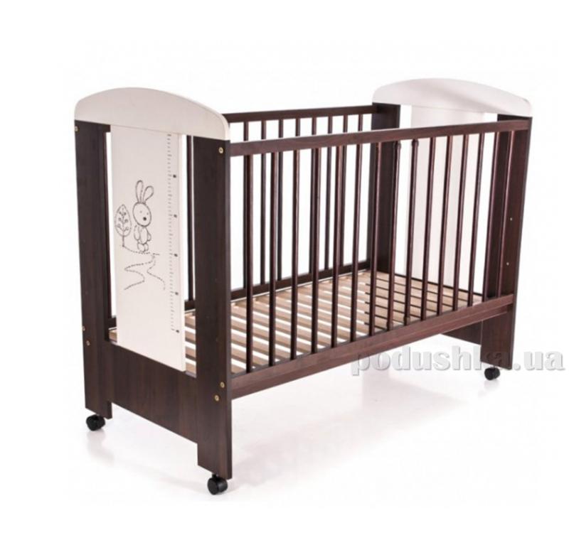 Детская кроватка Klups Safari Зайчик Ecru orzech