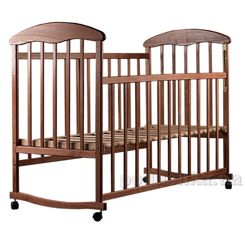 Детская кроватка Наталка Ясень Темный
