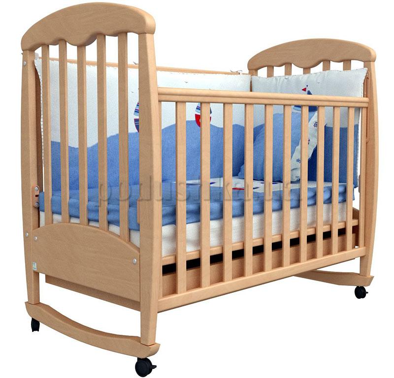 Детская кроватка Верес Соня ЛД1 бук