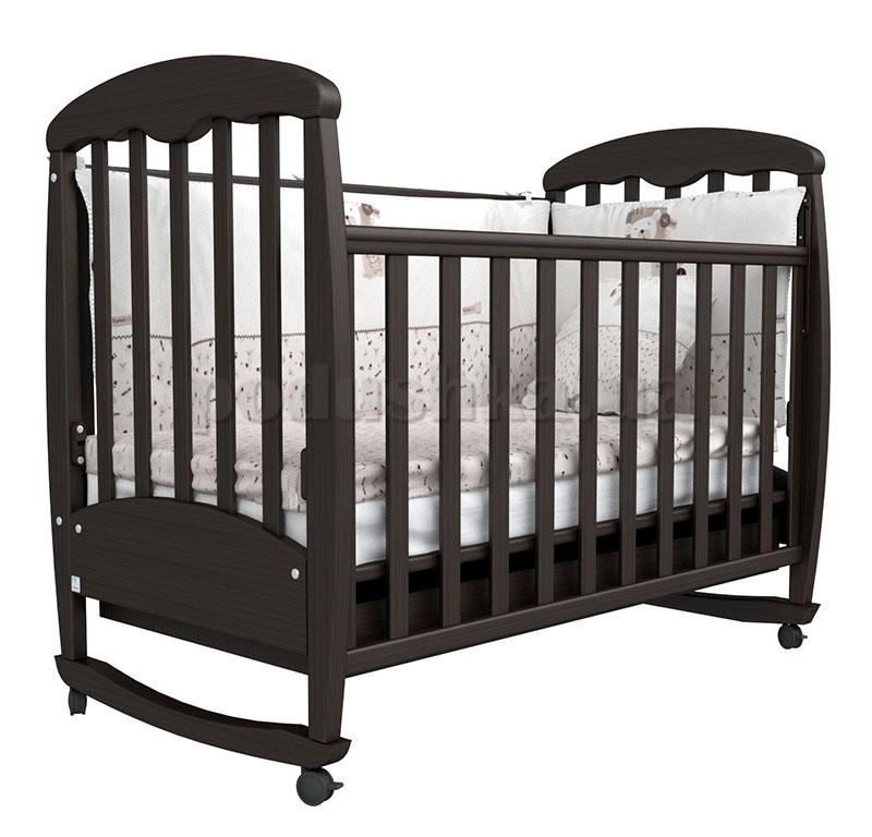 Детская кроватка Верес Соня ЛД1 орех
