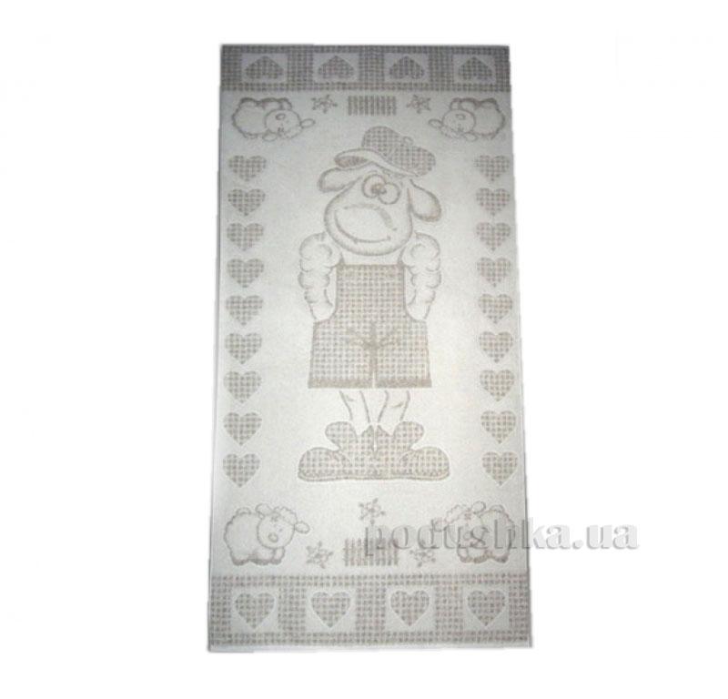 Детская махровая простынь Барашек в кепке Речицкий Текстиль