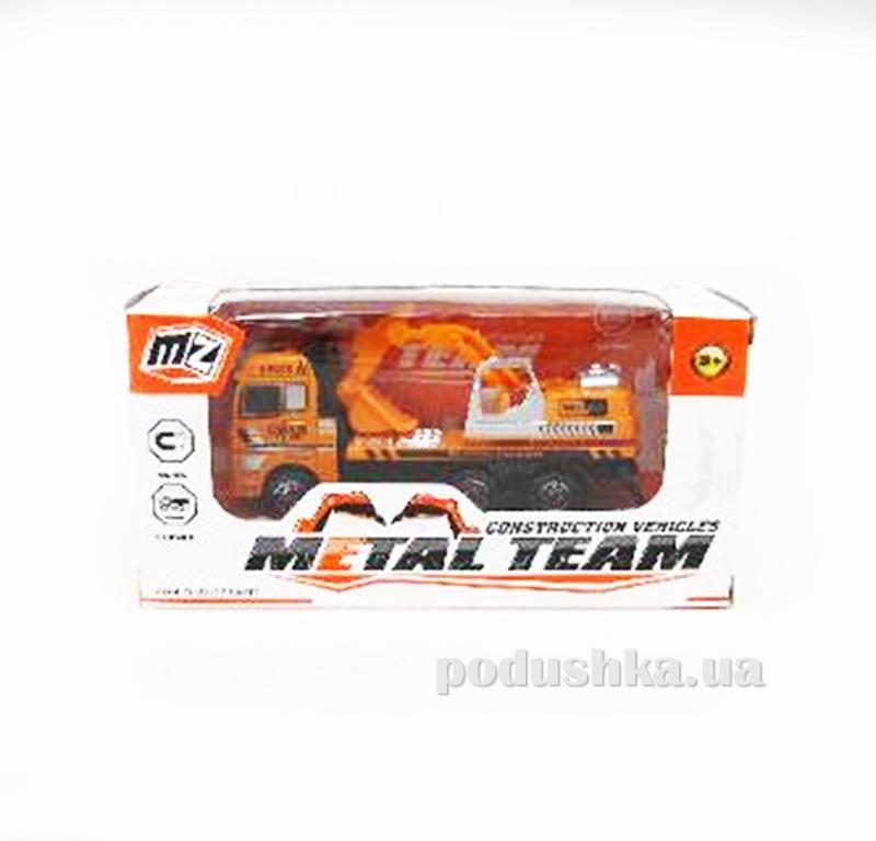 Детская машинка автокран Die-Cast 480962TP Metal Team