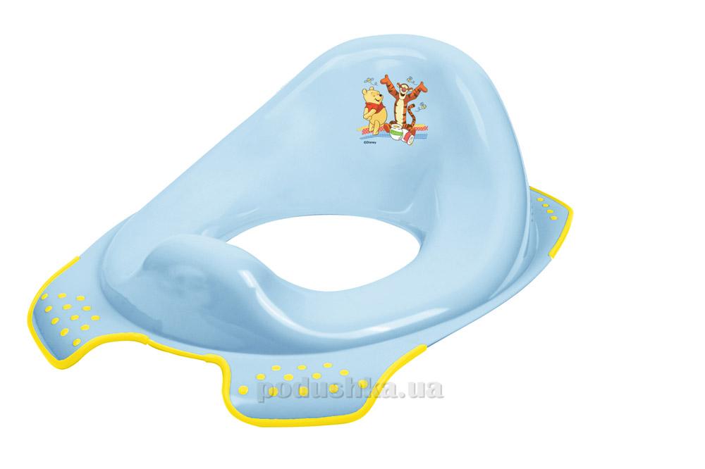 Детская накладка на унитаз Веселая компания голубая Prima Baby 815.658(GW)