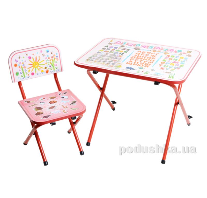 Детская парта со стульчиком Ommi Optima Красная
