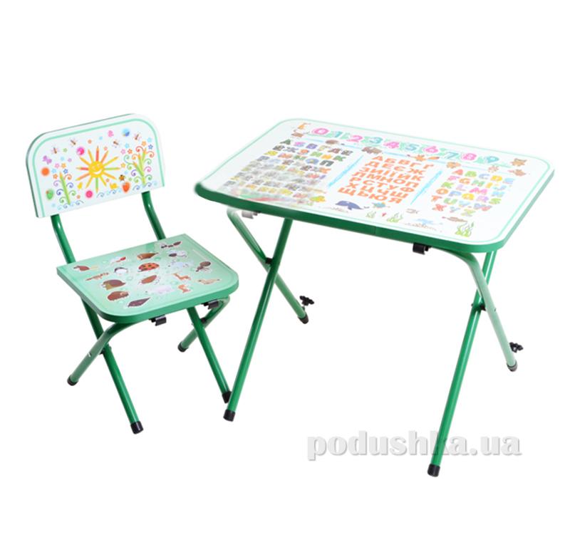 Детская парта со стульчиком Ommi Optima Зеленая