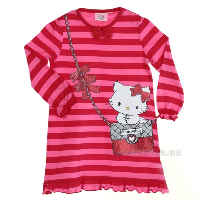Детская пижама для девочки Sun City Котенок NH2068red