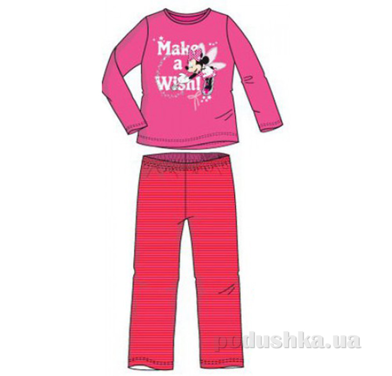 Детская пижама для девочки Sun City Мышка NH2086pink