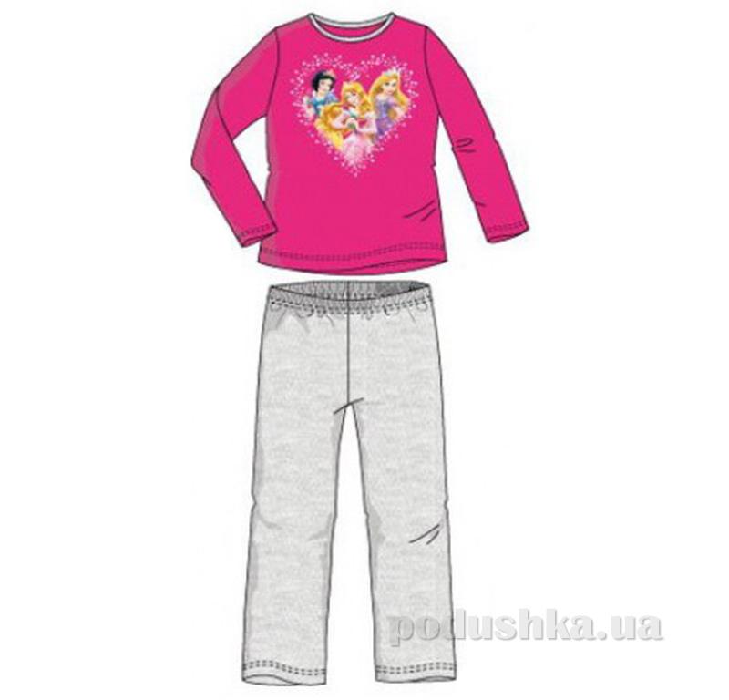 Детская пижама для девочки Sun City Принцессы NH2052red