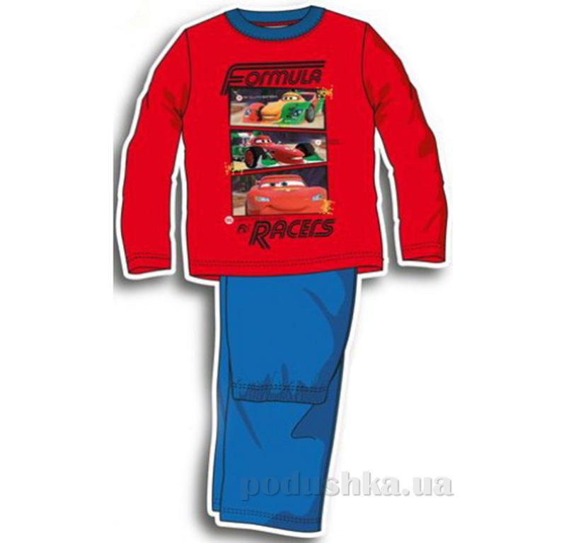 Детская пижама для мальчика Sun City Машинки NH2199red