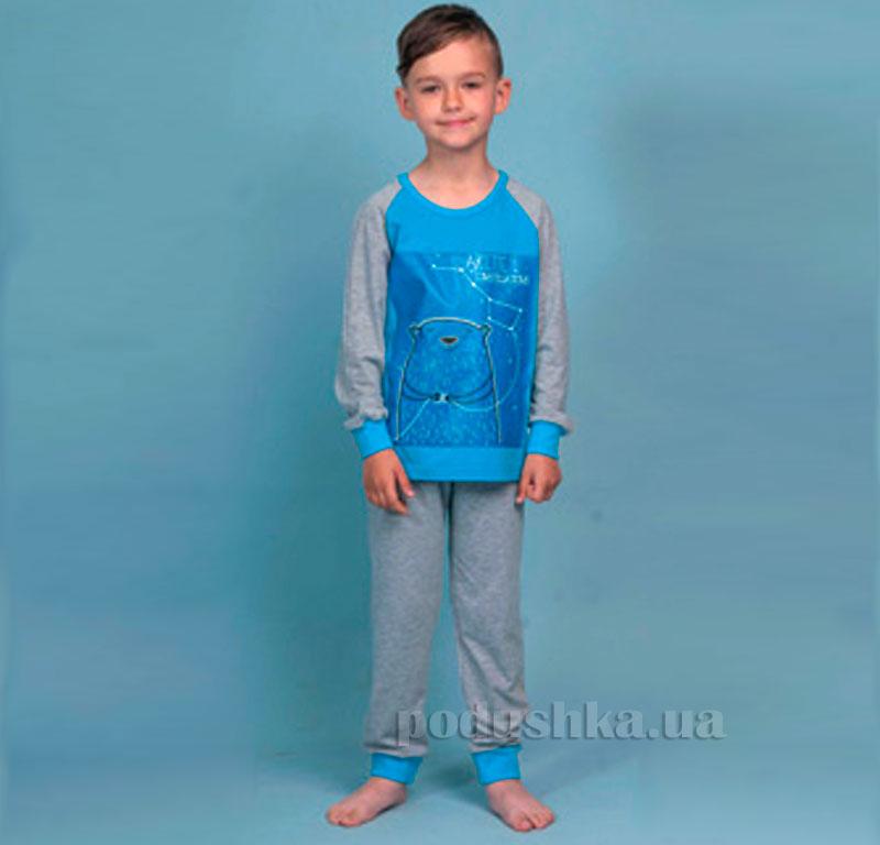 Детская пижама Ellen BNP 007/005 голубой