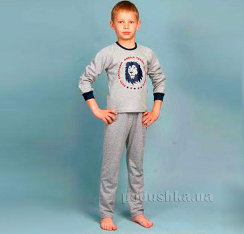 Детская пижама Ellen BNP 009/001 серая