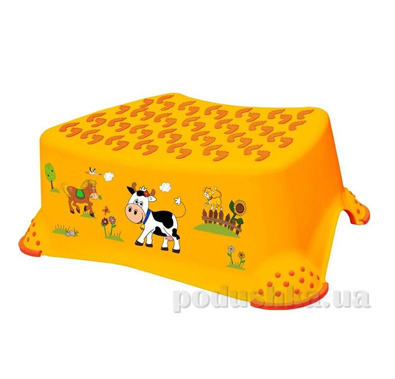 Детская подставка Funny Farm Prima-baby желтая