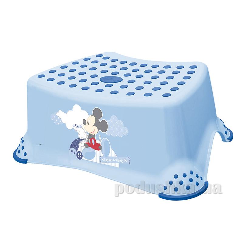 Детская подставка Мышонок Prima-baby голубая