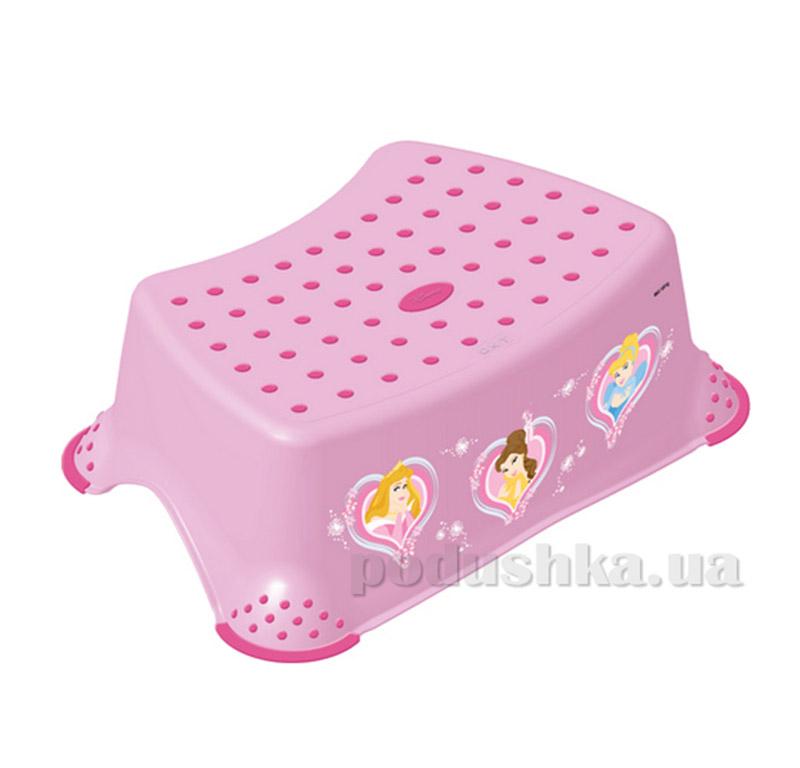 Детская подставка Принцессы Prima-baby розовая