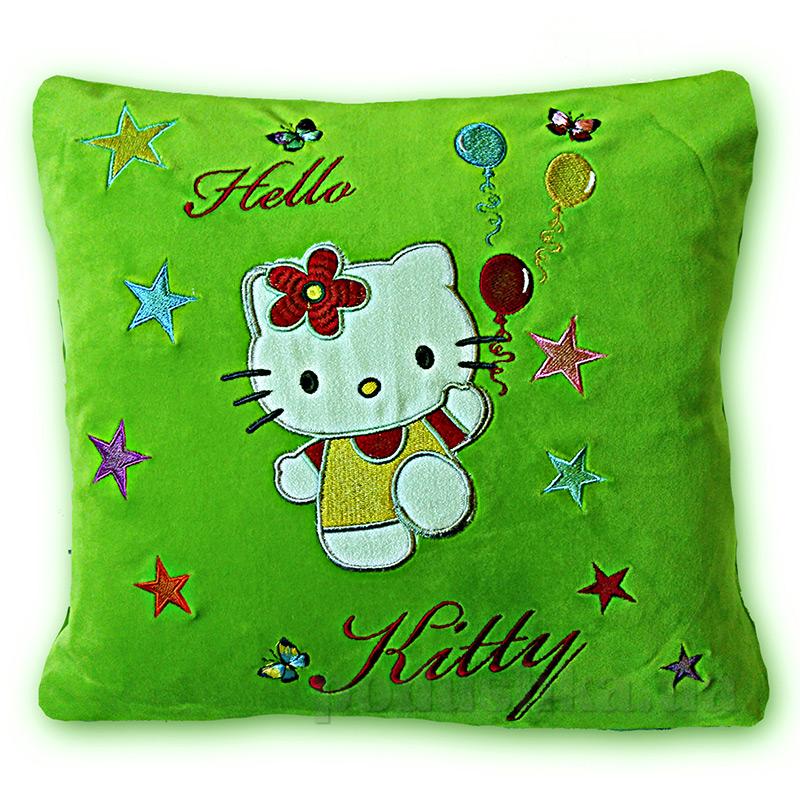 Детская подушка с вышивкой Украина 36x36 см  Украина