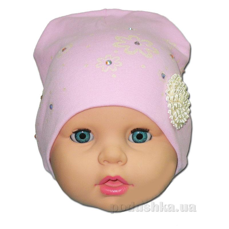Детская шапочка для девочки Хризантемка Габби 00664