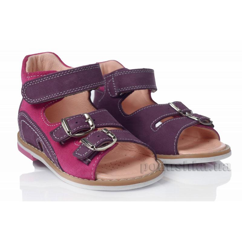Детские босоножки Theoleo 101 фиолетовые