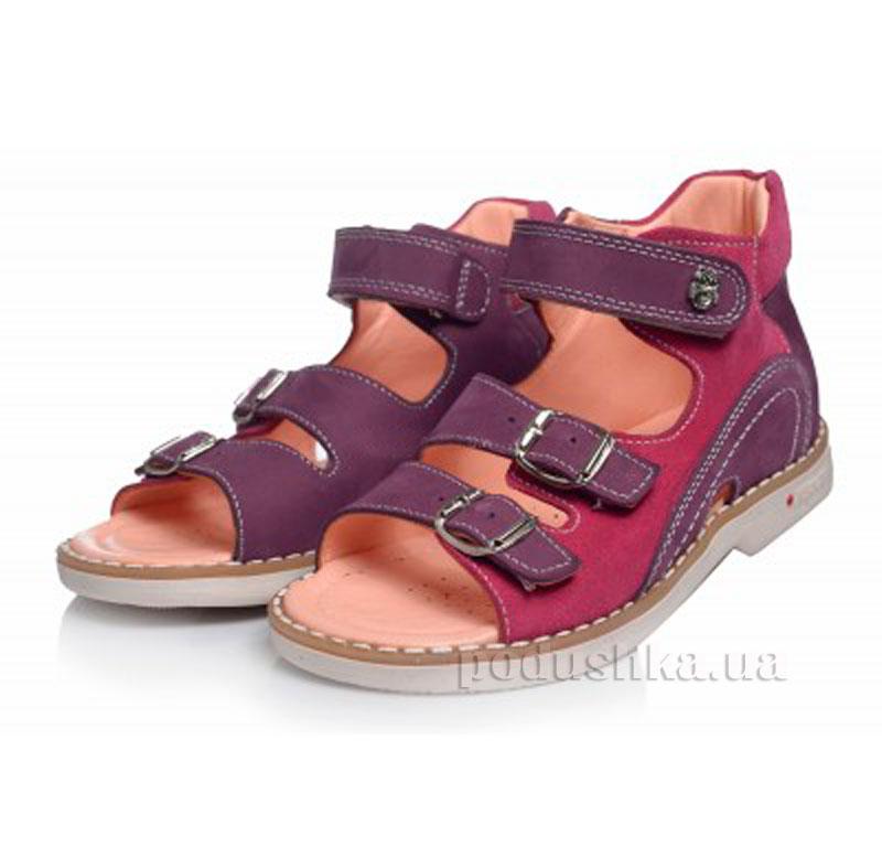 Детские босоножки Theoleo 115 фиолетовые