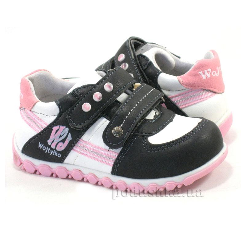 Детские ботинки Wojtylko 2А1076 черный
