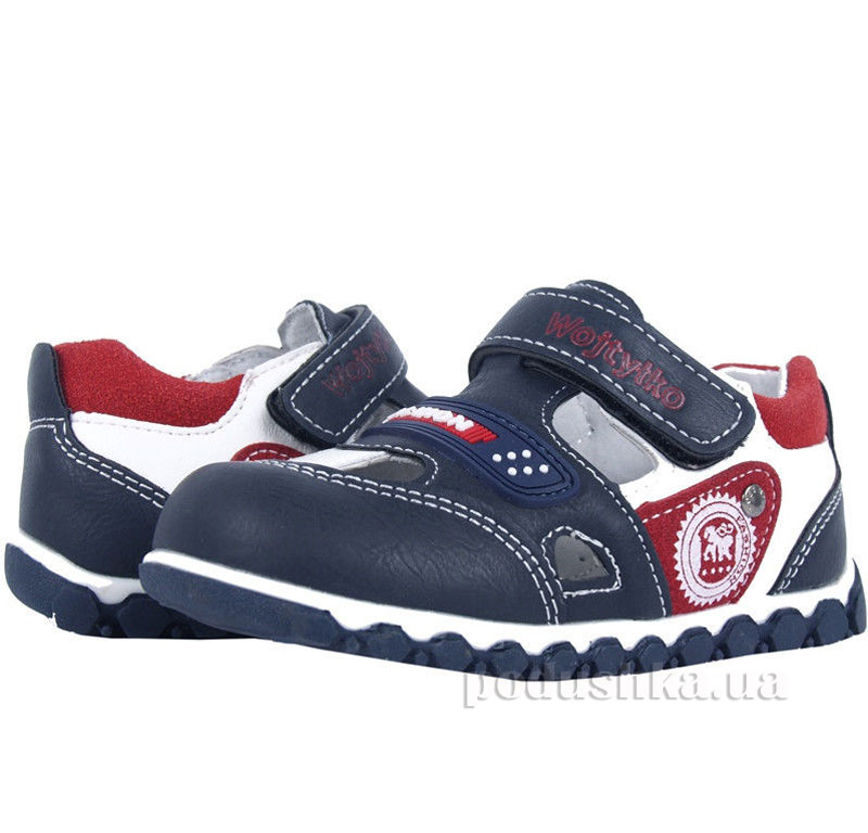 Детские ботинки Wojtylko 2BA11214 гранатовые