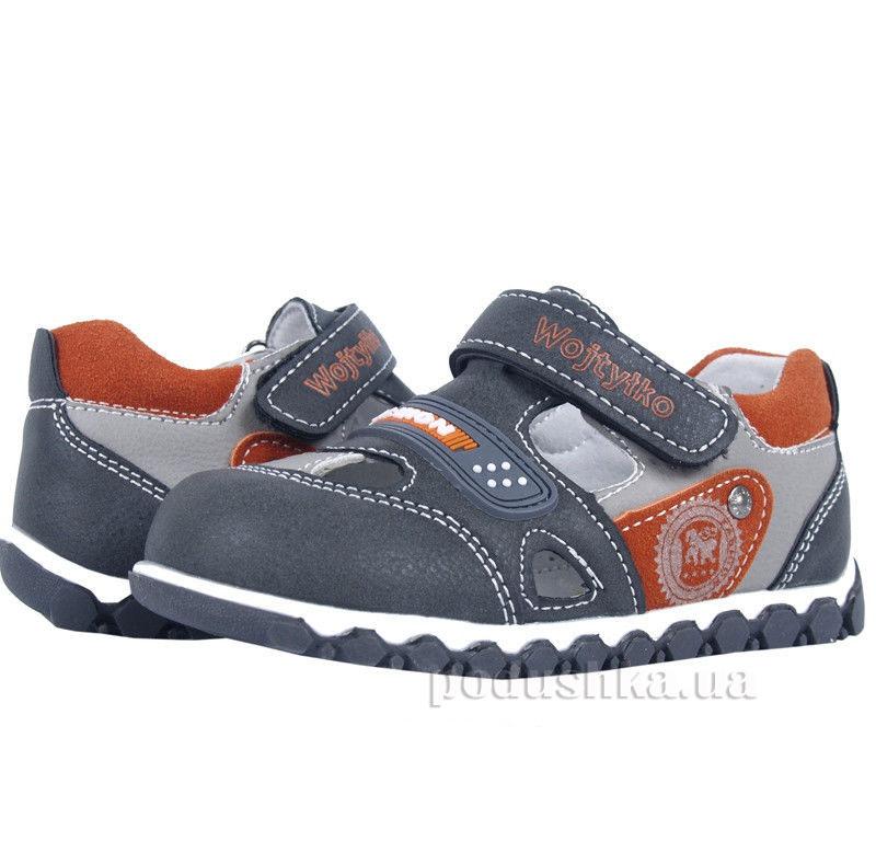 Детские ботинки Wojtylko 2BA11214 оливковые