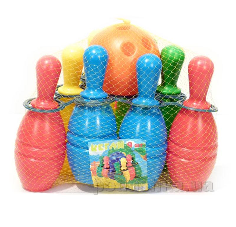 Детские игровые кегли Toys Plast 39-5-0492
