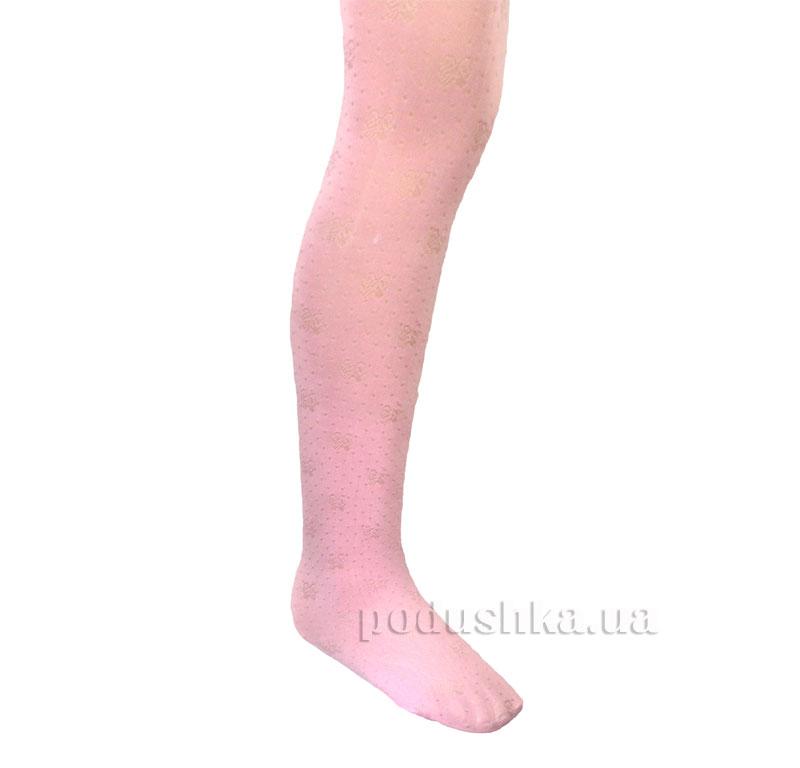 Детские колготы 80 ден Зувей 2707 розовые