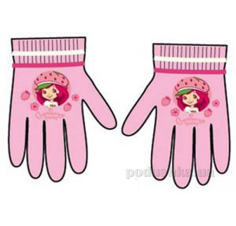 Детские перчатки Шарлотта для девочки Sun City sharlottapinkP