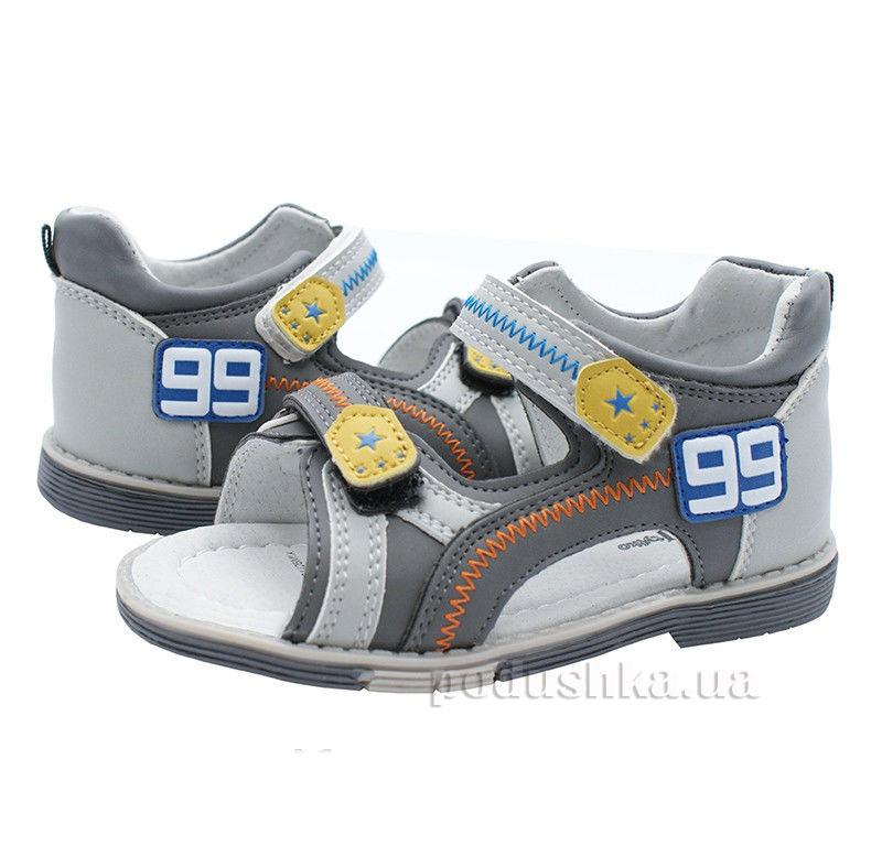 Детские сандалии Wojtylko 2S1126 серый