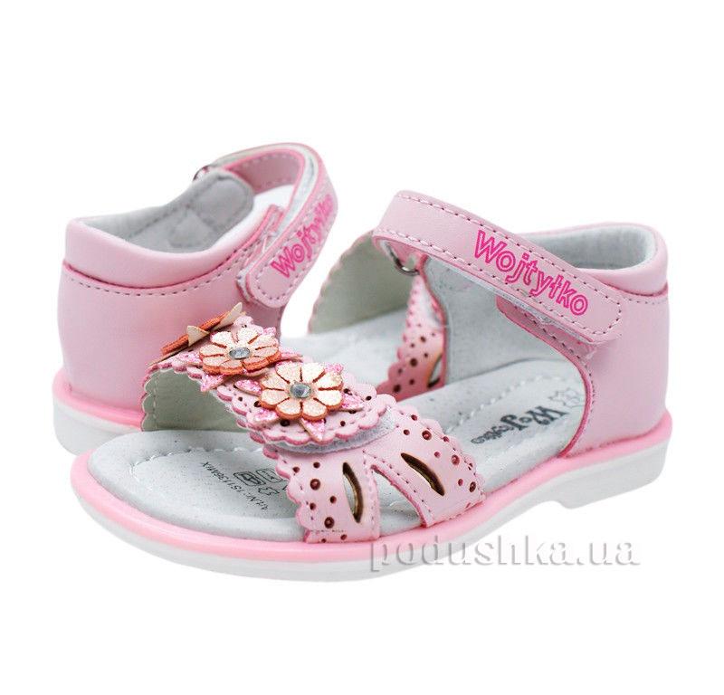 Детские сандалии Wojtylko 2S1136 розовые
