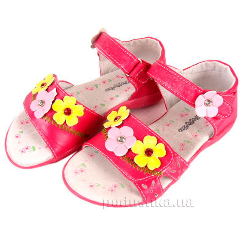 Детские сандалии Wojtylko 2S3315 фуксия