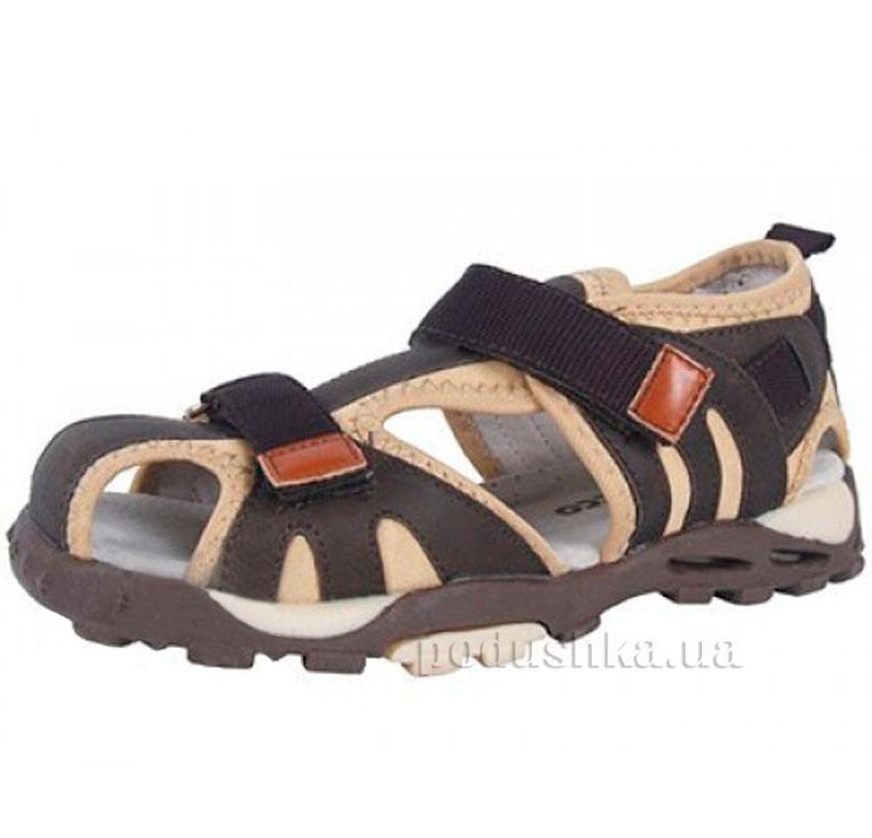 Детские сандалии Wojtylko 5A60207-002 коричневые
