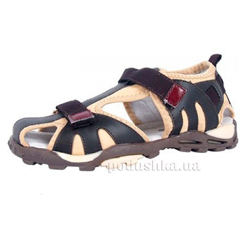 Детские сандалии Wojtylko 5A60207-002 темно-коричневые