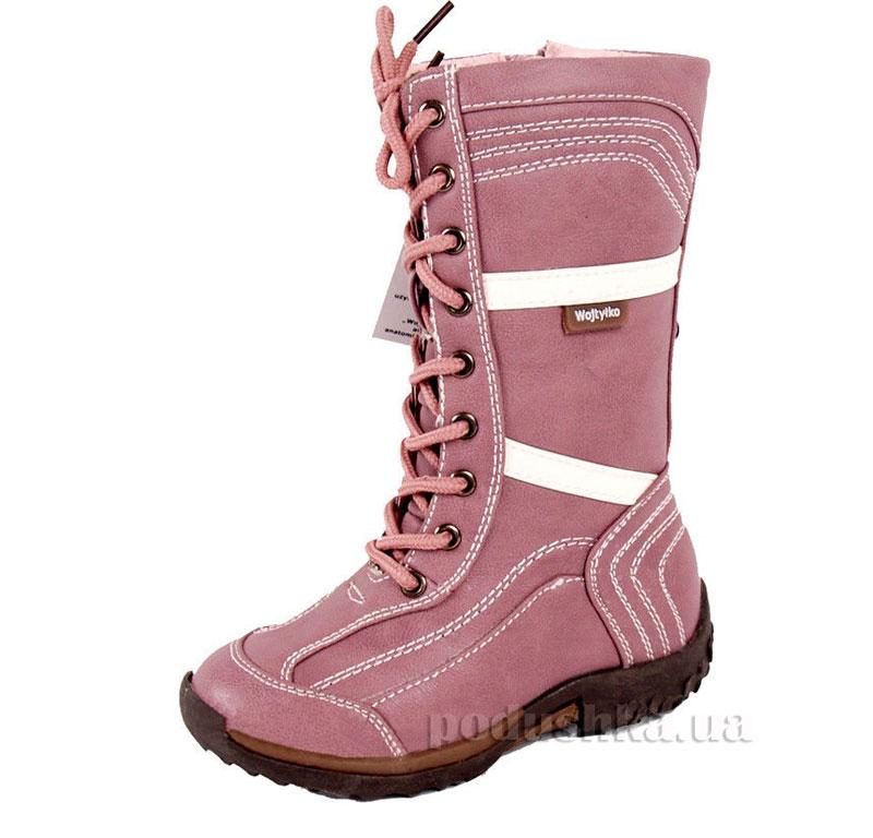 Детские сапожки Wojtylko 2Z1617 розовые