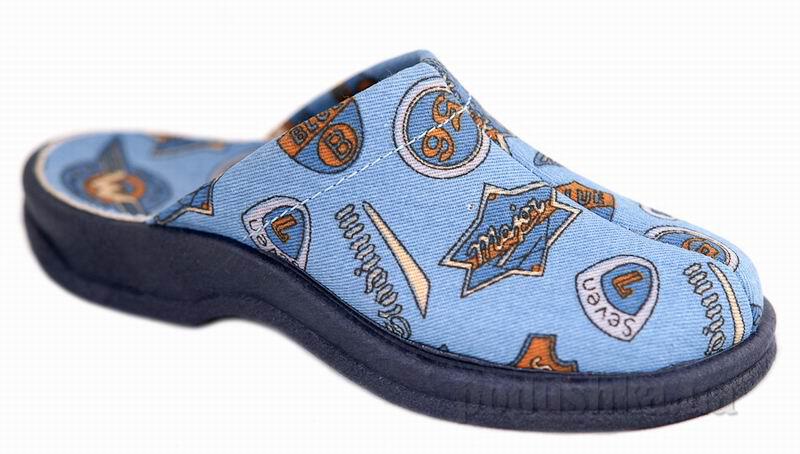 Детские тапочки Рома Floare 3200670300 голубые