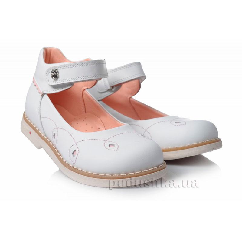 Детские туфли Theoleo 114 белые