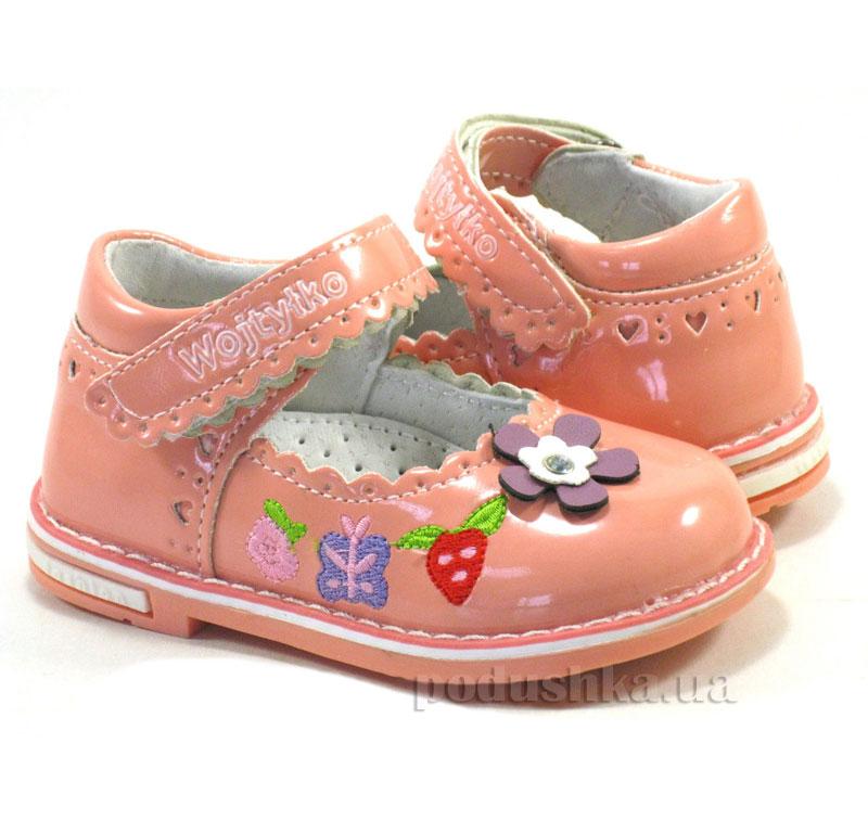 Детские туфли Wojtylko 2BA11204 розовые