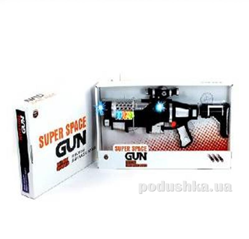 Детский бластер со светом и звуком Space Gun 467510WGB