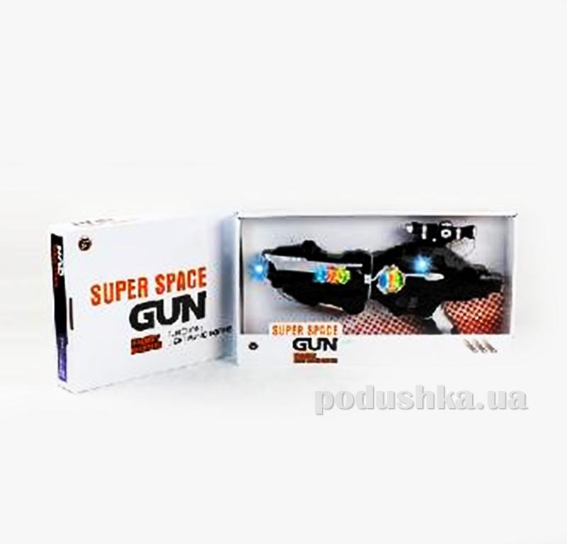 Детский бластер со светом и звуком Space Gun 481885WGB