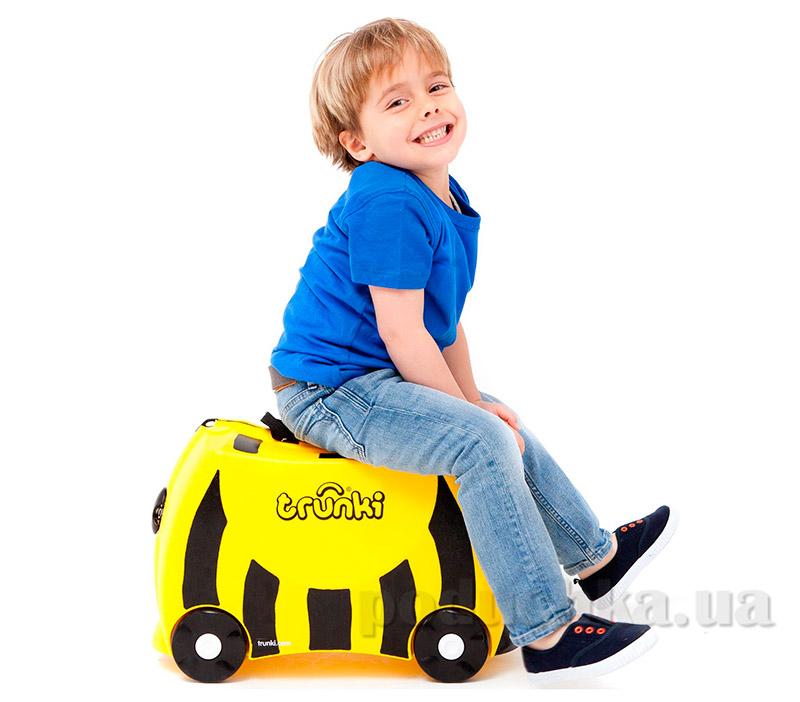 Детский дорожный чемоданчик Trunki Bee Bernard TRU-B044