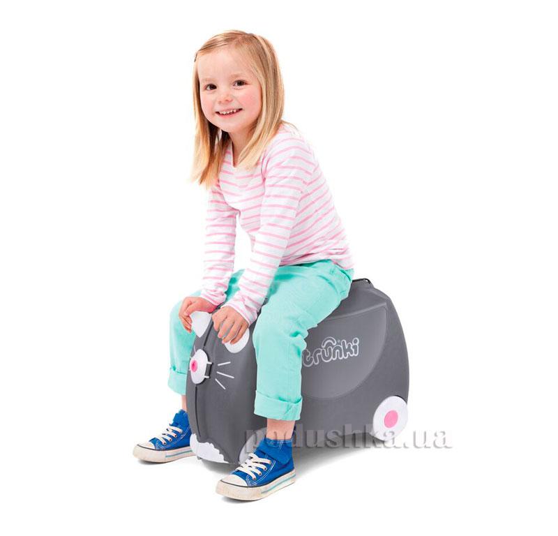 Детский дорожный чемоданчик Trunki Benny Cat