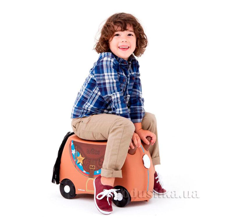 Детский дорожный чемоданчик Trunki Bronco Horse