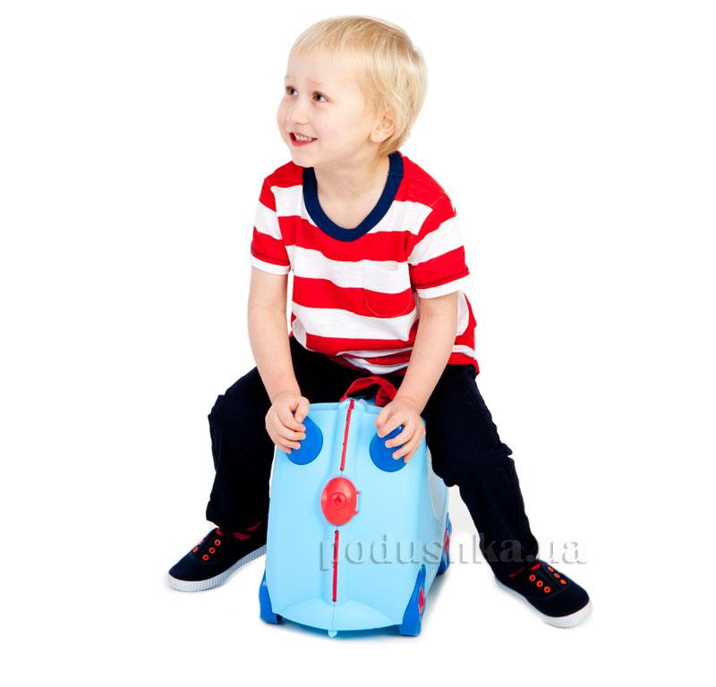 Детский дорожный чемоданчик Trunki George Print Handles
