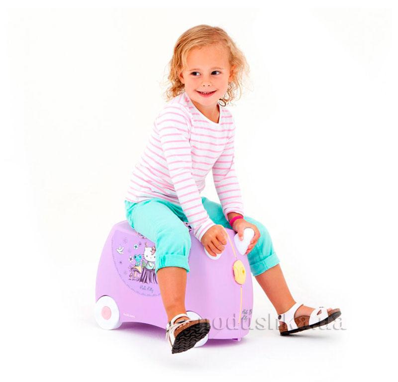 Детский дорожный чемоданчик Trunki Hello Kitty Lilac